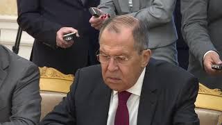 Смотреть видео С.Лавров на встрече