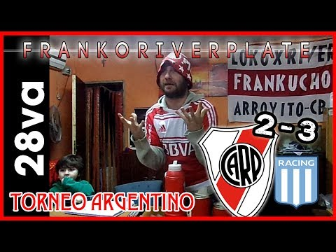 River 2 Racing Club 3 | Reacciones de un Hincha de River | fecha 28