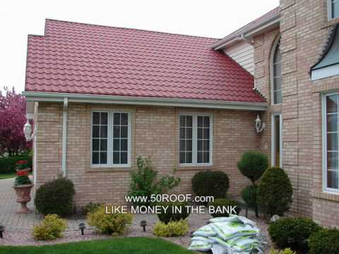 Metal Roof S Tile Spanish Tile Kynar Energy Star