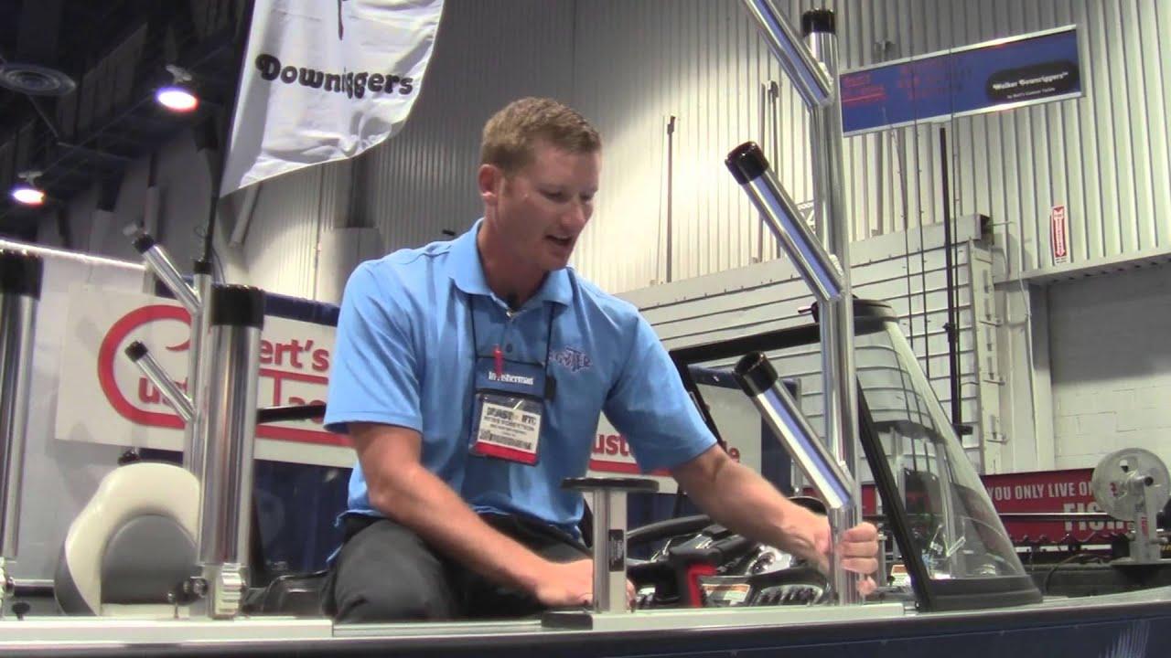 Bert 39 s custom tackle rod tree rod holders youtube for Fish usa com