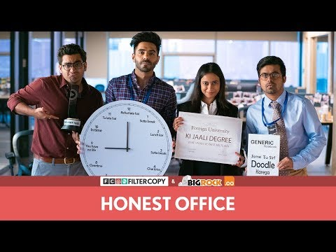 FilterCopy  Honest Office  Ft Aparshakti Khurana and Ronjini Chakraborty