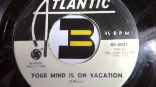 Watch Mose Allison Your Mind Is On Vacation video