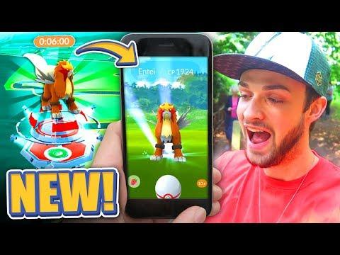 CAN WE CATCH IT? *NEW* LEGENDARY POKEMON RAID! - Pokemon Go