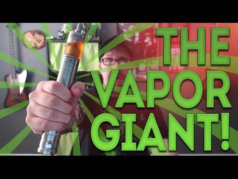 The Vapor Giant Is Giant