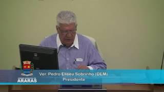 4ª Sessão Extraordinária - Câmara Municipal de Araras