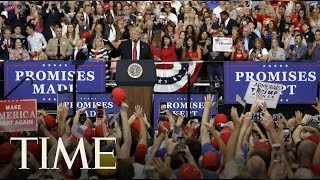 President Donald Trump Holds MAGA Rally In Chattanooga | TIME