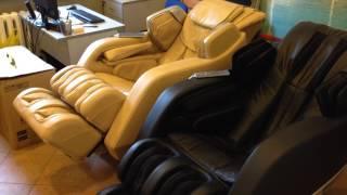 Массажное кресло Aront Select в действии.