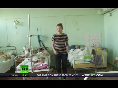 NewsTeam: Ukraine anti-govt fighters in hospital (E48)