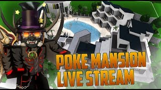 Roblox Bloxburg // Building for Pokediger1 the POKE MANSION !!! Part 10 (main zone finished!)
