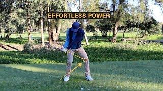 EFFORTLESS GOLF SWING POWER
