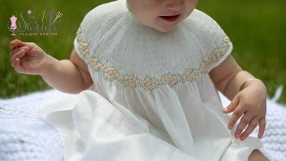 Beautiful Smocked Bishop with bound sleeves | Sewing Tutorial