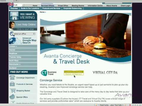 Avanta's Concierge & Travel Desk