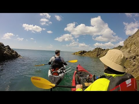 Sea Kayaking Cable Bay Porth Trecastell Anglesey