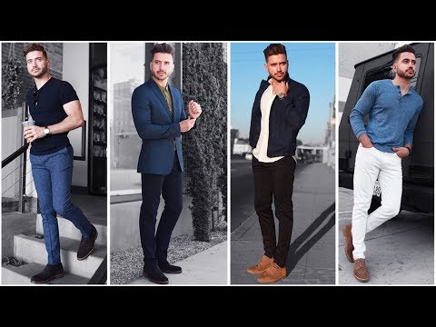 4 Easy Outfits for Men | The Blue Lookbook | Men's Fashion Inspiration Fall 2017