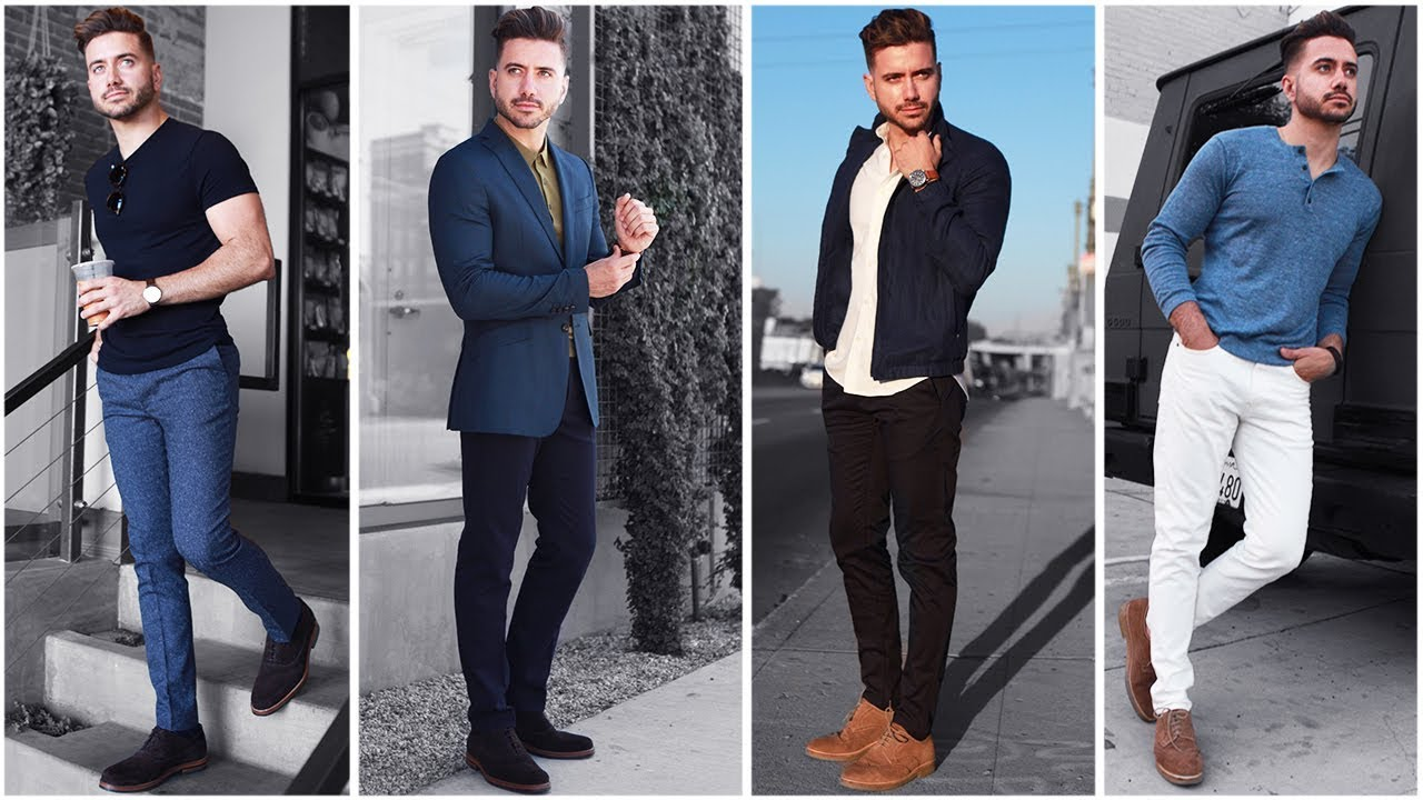 [VIDEO] - 4 Easy Outfits for Men | The Blue Lookbook | Men's Fashion Inspiration Fall 2017 4