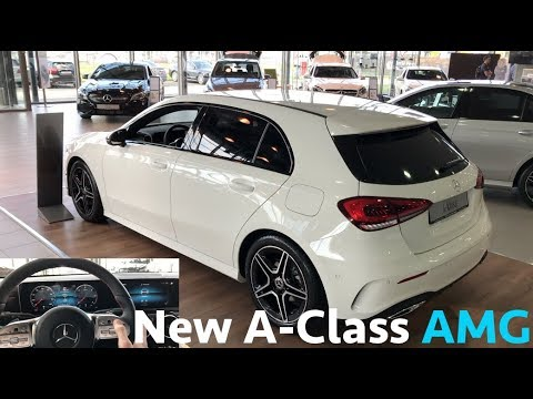 2019 Mercedes-Benz NEW A-Class (A180d) - first in depth review in 4K