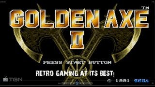 Retro Gaming - Golden Axe II