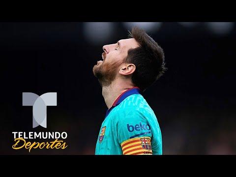 ¡Una pesadilla! La falta de puntería de Lionel Messi | Telemundo Deportes