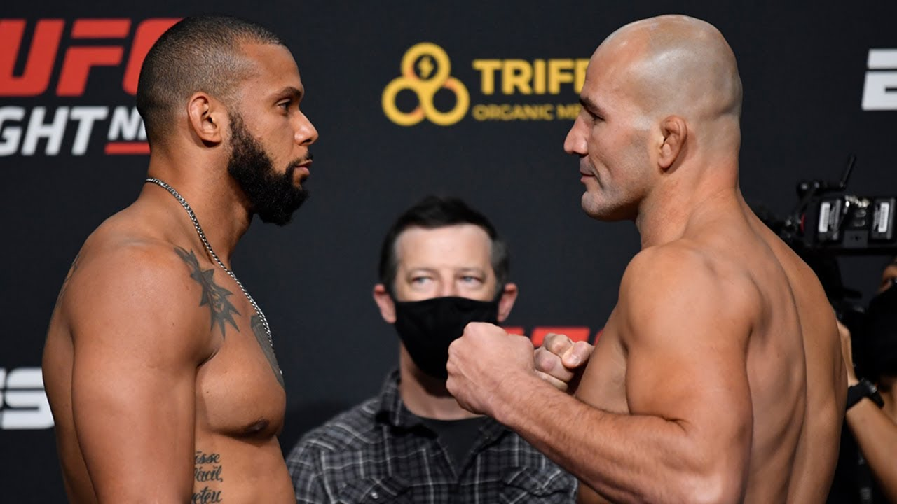 UFC Vegas 13: Weigh-in Faceoffs