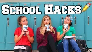 School Hacks | B&B Back to School