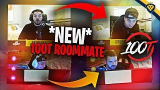 MY NEW 100T ROOMMATE! WE INVADE EACH OTHERS STREAMS! (Fortnite: Battle Royale)