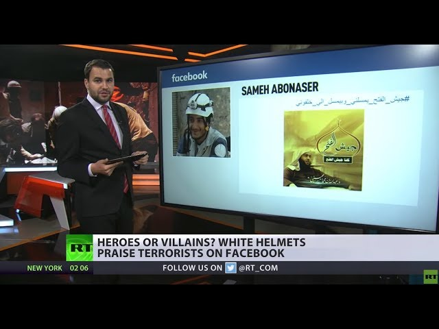 Rescuers or Villains? White Helmets praise terrorists on Facebook