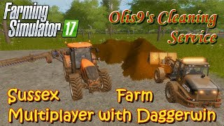 Farming Simulator 17 | Playing in Daggerwin's server | Sussex Farm | Ep. 3 | Timelapse