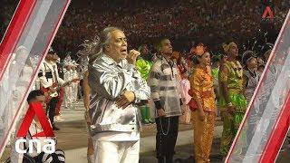 NDP 2019: Rocker Ramli Sarip sings Singapore's national anthem