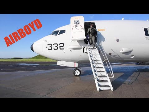 Boeing P-8A Poseidon Anti-Submarine Exercise