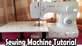 How To Use A Sewing Machine + Sewing Tips   Sewing Machine Tutorial   Stitch By Stitch