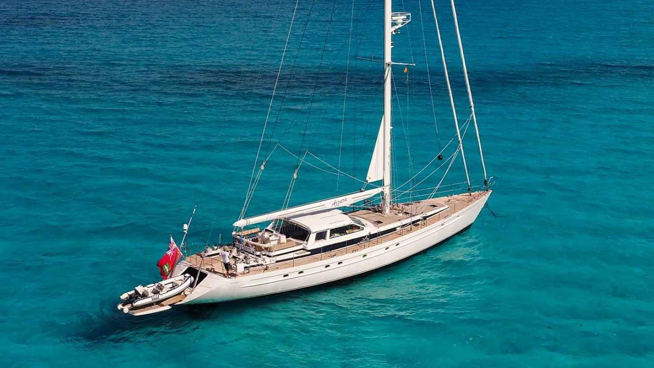 sailing yacht azzura youtube
