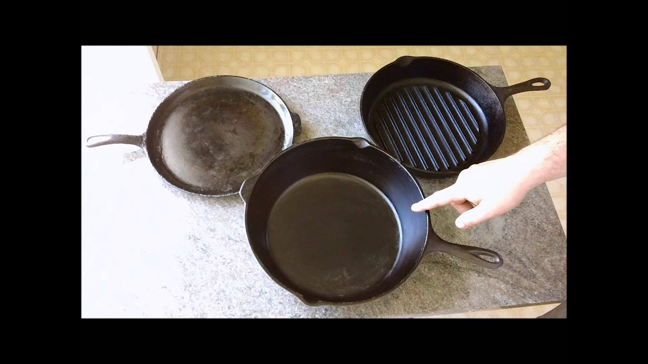 how to ruin a cast iron pan youtube. Black Bedroom Furniture Sets. Home Design Ideas