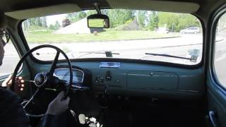Driving a FIAT Millecento (1100) 1958