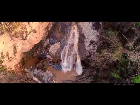 VÍDEO: La cascada del Salto del Caballo, en Almedinilla, tras las últimas lluvias