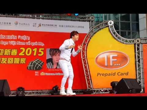 1/2/2015. lâm Chấn Khang qua đài loan ca nhạc .