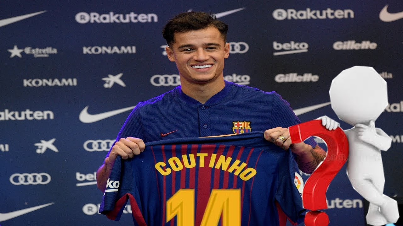 Coutinho Trikotnummer