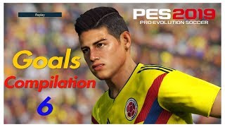 Pes 2019 - Goals -Skills & Goalkeeper Saves- Compilation #6- PS4 - HD