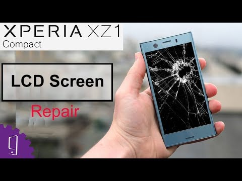 Sony Xperia XZ1 Compact LCD Screen Repair Guide