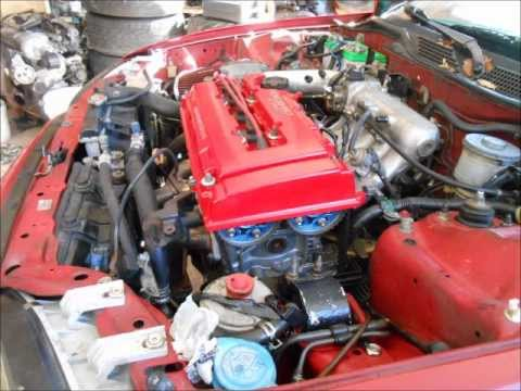 HONDA CIVIC SWAP B20/vtec AUTO TO MANUAL