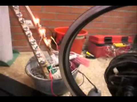 Gymnator: Bicicleta Generador De Electricidad