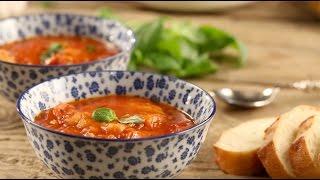 מרק עגבניות איטלקי