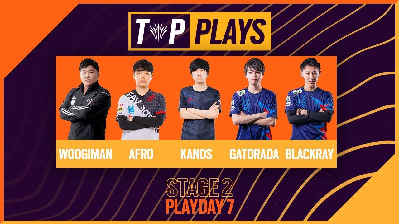TOP PLAYS: Rainbow Six APAC North 2021 - Stage 2 Playday 7