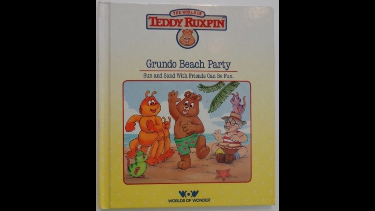 Water Safety with Teddy Ruxpin Book and Tape Teddy Ruxpin
