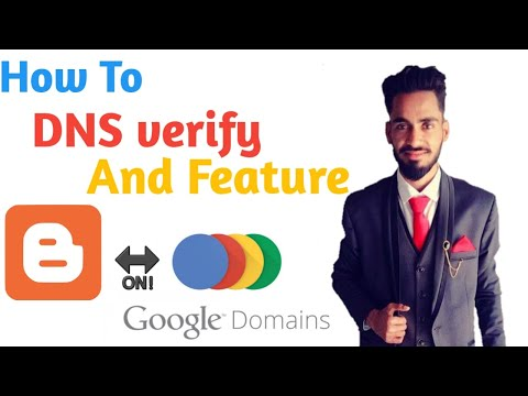 Google Domain   Dns Verify   Feature And Manage With Google Search Console   Blogger   Website