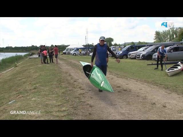 Kayak : championnat du grand est de vitesse à Mondelange