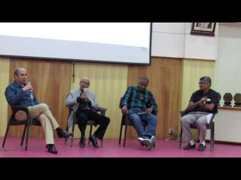 Panel Discussion Indian Statistical Institute Alumni Meet 2017 Bangalore