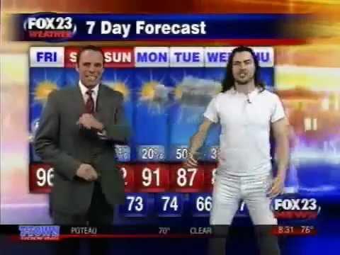 Fox News- Wacky Weather Man - Andrew W.K. .To F.N Classic !