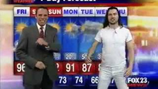 Fox News- Wacky Weather Man - Andrew W.K. .To F.N Classic !