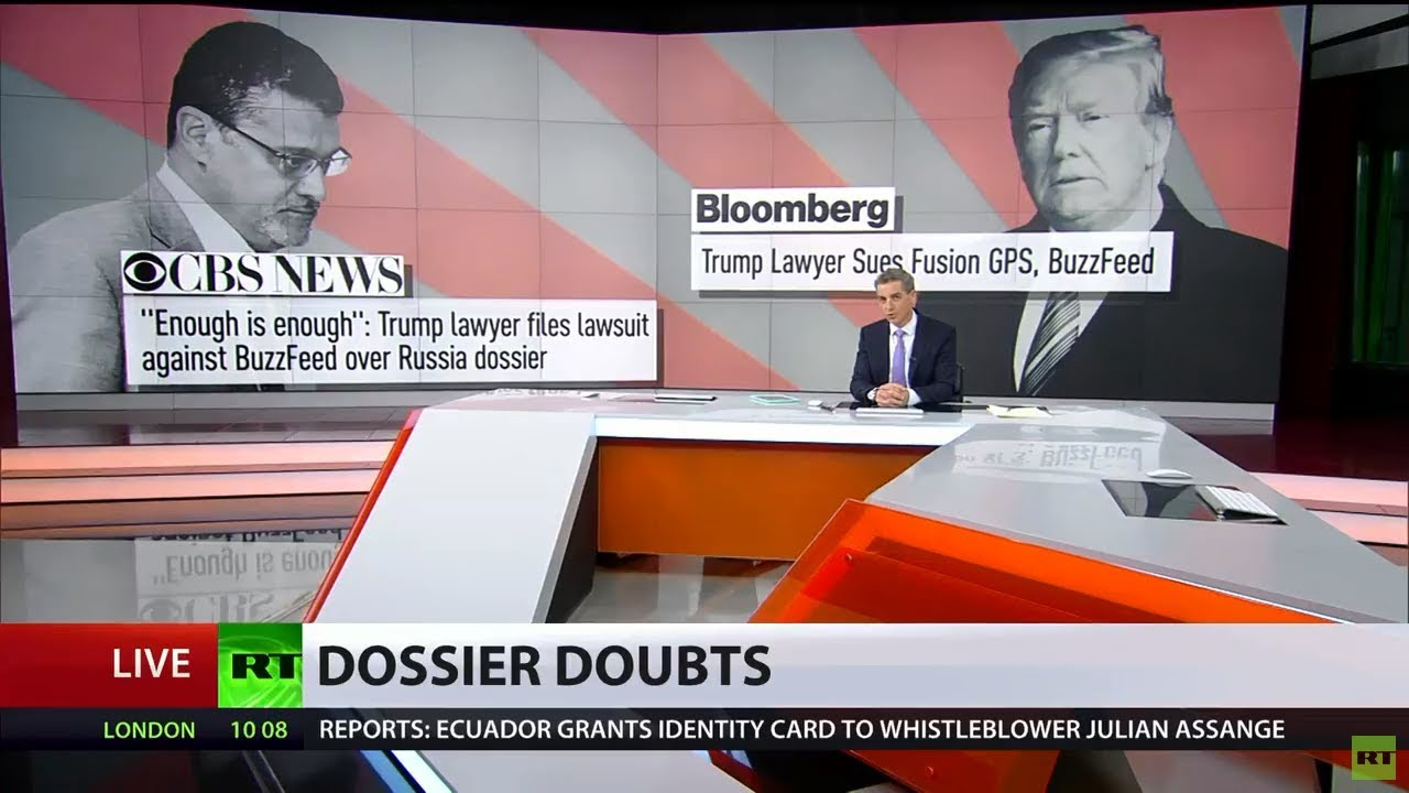'World laughs at 'Russia dossier': Team Trump to sue creators of collusion reports