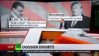 'World laughs at 'Russia dossier': Team Trump to sue creators of collusion reports